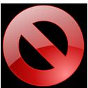 no, cancel, close, stop icon