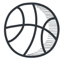 academy, student, academic, handdrawn, knowledge, learning, teach, university, basketball, teaching, school, education, sports icon