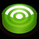 Rss green circle icon