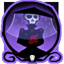 skeleton,bride icon