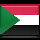 sudan, flag icon