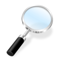 search, zoom, find icon
