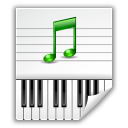 midi, audio icon