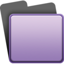 purple,folder icon