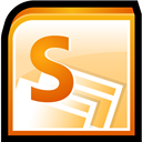 Microsoft, Office, Sharepoint, Software icon