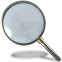 find, search, zoom, magnifying glass icon