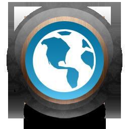 Color Wood Utorrent Icon Ornate Globe Icons Icon Sets Icon Ninja