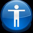 Apps preferences desktop accessibility icon