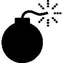Bomb Explosive Icon The Noun Project Icon Sets Icon Ninja