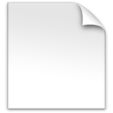file, blank, z icon