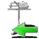 prev, backward, my document, left, arrow, previous, back icon