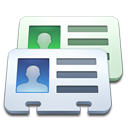contact, id, identification, card, phonebook, credential, profiles icon