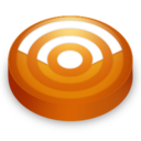 rss,orange,subscribe icon