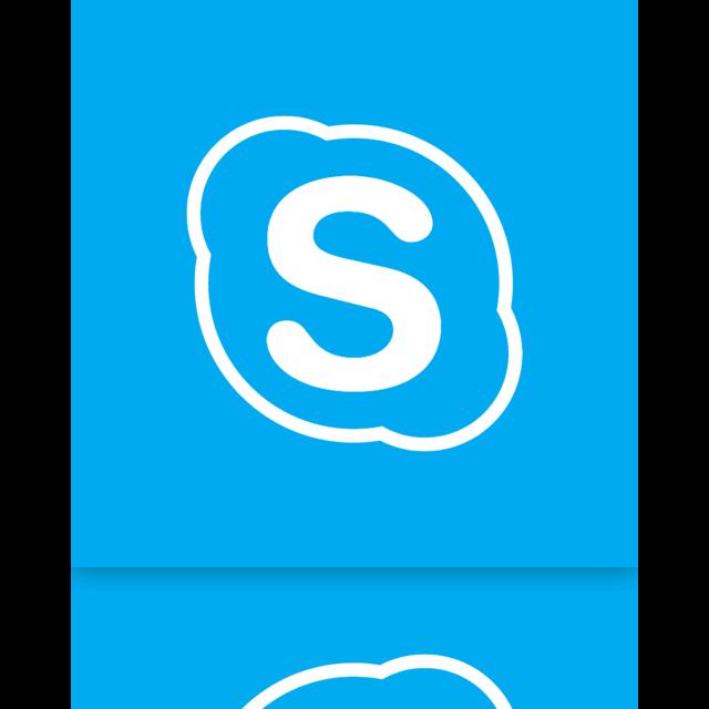 mirror, alt, skype icon