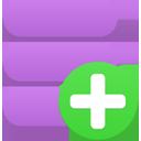 data, add icon