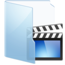 video,blue icon