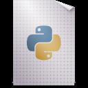 Mimetypes text x python icon