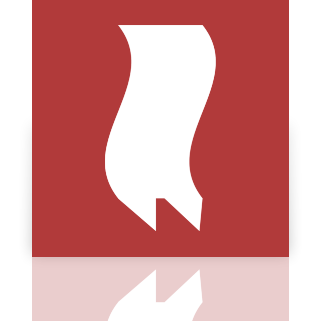 mirror, bookmarks icon