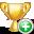 add, trophy icon