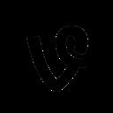 vine, circle, social icon