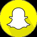 logo, social network, snapchat icon