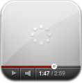 Loading, Window, Youtube icon