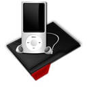 Mp, Music, My, Red icon