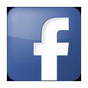 Blue, Box, Facebook, Social icon