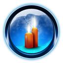 candles, ikony, dooffy, 0008, christmas icon