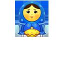 Blue, Matreshka, Up icon