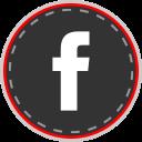media, facebook, online, social icon