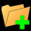 plus, folder icon