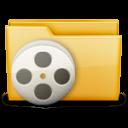movie, film, video, folder icon