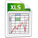 word, microsoft, xls, excel icon