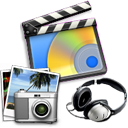package, multimedia, pack icon