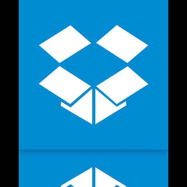 dropbox, mirror icon