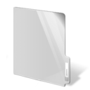 white,closed,folder icon