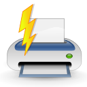 print, filequickprint, quick, printer, file, document, paper icon