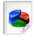 application, stat, graph, chart, oasis, open document icon