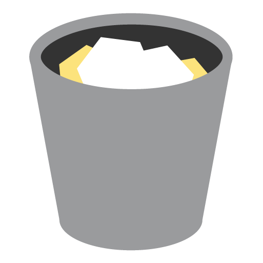 full, trash, appicns icon