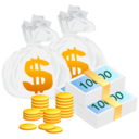 money,bag,cash icon