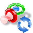 Pacifier, Refresh icon