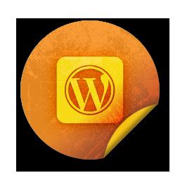 wordpress, logo, square icon