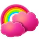 cloud,rainbow icon