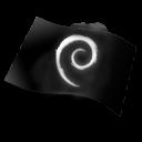 flag, debian icon