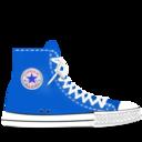 converse,blue icon