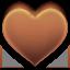 favorite, heart, love, chocolate icon