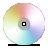 cd,spectrum,disc icon