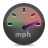 speed,mph icon