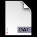 dat,fileextension icon